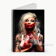 Sara Fabel Custom Personalized Spiral Notebook Cover
