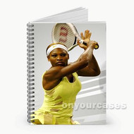 Serena Williams Custom Personalized Spiral Notebook Cover