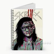 Skrillex Zombie Custom Personalized Spiral Notebook Cover