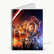 Star Wars The Force Awakens Movie Custom Personalized Spiral Notebook Cover