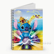 Stitch from Lilo and Stitch Custom Personalized Spiral Notebook Cover