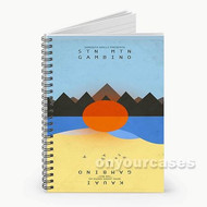 Stn Mtn Gambino Custom Personalized Spiral Notebook Cover