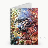 Super Smash Bros Caharacters Custom Personalized Spiral Notebook Cover