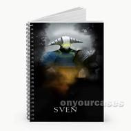Sven Dota 2 Custom Personalized Spiral Notebook Cover