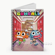 The Amazing World of Gumball Dinosaur Attack Custom Personalized Spiral Notebook Cover