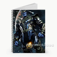 The Avengers Infinity War Thanos Custom Personalized Spiral Notebook Cover