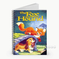 The Fox and the Hound Custom Personalized Spiral Notebook Cover