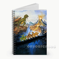 The Land Before Time Classic Custom Personalized Spiral Notebook Cover