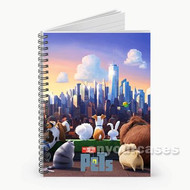 The Secret Life Of Pets Custom Personalized Spiral Notebook Cover