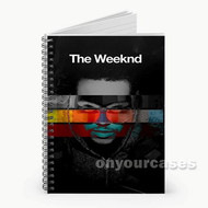 The Weeknd Cover Custom Personalized Spiral Notebook Cover