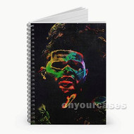 The Weeknd Madness Custom Personalized Spiral Notebook Cover