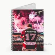 Tiesto DJ Concert Custom Personalized Spiral Notebook Cover