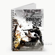 Tom Clancy s Rainbow Six Siege Custom Personalized Spiral Notebook Cover