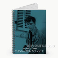 Troye Sivan Talk Me Down Custom Personalized Spiral Notebook Cover