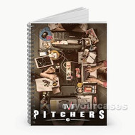 TVF Pitchers Custom Personalized Spiral Notebook Cover