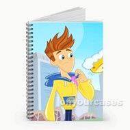Twist Fresh Beat Band of Spies Custom Personalized Spiral Notebook Cover