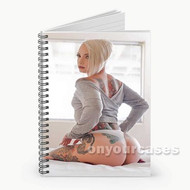 Vany Vicious Custom Personalized Spiral Notebook Cover