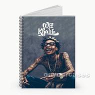 Wiz Khalifa Tattoo Custom Personalized Spiral Notebook Cover