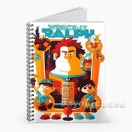 Wreck It Ralph All Chaaracters Custom Personalized Spiral Notebook Cover