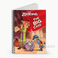 Zootopia The Big Case Custom Personalized Spiral Notebook Cover