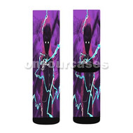 Mob Psycho 100 2 Custom Sublimation Printed Socks Polyester Acrylic Nylon Spandex with Small Medium Large Size
