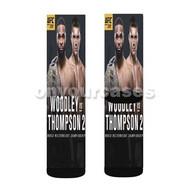 UFC 209 Woodley vs Thompson Custom Sublimation Printed Socks Polyester Acrylic Nylon Spandex with Small Medium Large Size