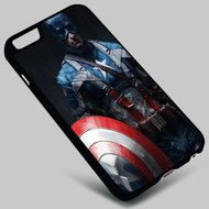 Captain America  on your case iphone 4 4s 5 5s 5c 6 6plus 7 Samsung Galaxy s3 s4 s5 s6 s7 HTC Case