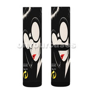 Edna Mode Incredibles 2 Custom Sublimation Printed Socks Polyester Acrylic Nylon Spandex with Small Medium Large Size