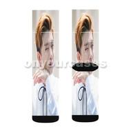 Joshua Seventeen Custom Sublimation Printed Socks Polyester Acrylic Nylon Spandex with Small Medium Large Size
