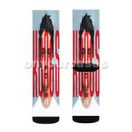 Kungs Custom Sublimation Printed Socks Polyester Acrylic Nylon Spandex with Small Medium Large Size