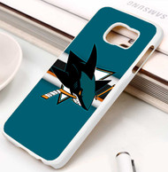 San Jose Sharks 4 Samsung Galaxy S3 S4 S5 S6 S7 case / cases