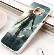 scarlett johansson captain america Samsung Galaxy S3 S4 S5 S6 S7 case / cases