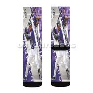 Nolan Arenado MLB Colorado Rockies Custom Sublimation Printed Socks Polyester Acrylic Nylon Spandex with Small Medium Large Size
