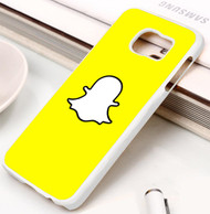 Snapchat Samsung Galaxy S3 S4 S5 S6 S7 case / cases
