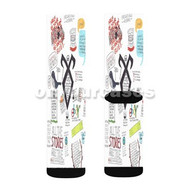 The Mortal Instruments Collage Custom Sublimation Printed Socks Polyester Acrylic Nylon Spandex with Small Medium Large Size