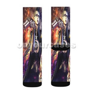 Smash 4 Bayonetta Sexy Custom Sublimation Printed Socks Polyester Acrylic Nylon Spandex with Small Medium Large Size