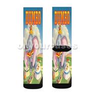 Disney Dumbo Classic Custom Sublimation Printed Socks Polyester Acrylic Nylon Spandex with Small Medium Large Size