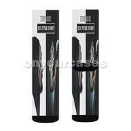 Steve Aoki Neon Future Odyssey Custom Sublimation Printed Socks Polyester Acrylic Nylon Spandex with Small Medium Large Size
