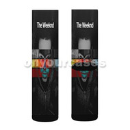 The Weeknd Cover Custom Sublimation Printed Socks Polyester Acrylic Nylon Spandex with Small Medium Large Size