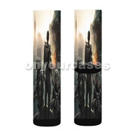 Tom Clancy s Rainbow Six Siege Ready For Battle Custom Sublimation Printed Socks Polyester Acrylic N with Small Medium Large Size