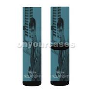 Troye Sivan Talk Me Down Custom Sublimation Printed Socks Polyester Acrylic Nylon Spandex with Small Medium Large Size