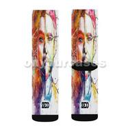 Zedd feat Selena Gomez I Want You to Know Custom Sublimation Printed Socks Polyester Acrylic Nylon S with Small Medium Large Size