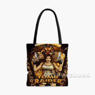 Lara Croft Tomb Raider Custom Personalized Tote Bag Polyester with Small Medium Large Size