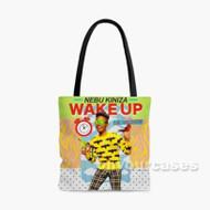 Wake Up Nebu Kiniza Feat Lil Yachty Custom Personalized Tote Bag Polyester with Small Medium Large Size