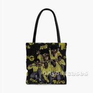 Asap Rocky Testing Custom Personalized Tote Bag Polyester with Small Medium Large Size