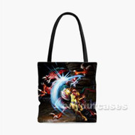 Metroid Samus Returns Custom Personalized Tote Bag Polyester with Small Medium Large Size