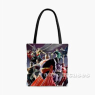 Justice League of Superhero Custom Personalized Tote Bag Polyester with Small Medium Large Size