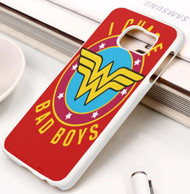 Wonder Woman I Chase Bad Boys Samsung Galaxy S3 S4 S5 S6 S7 case / cases