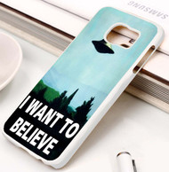 x files i want to believe Samsung Galaxy S3 S4 S5 S6 S7 case / cases