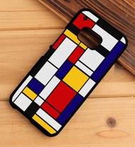 Mondrian HTC One X M7 M8 M9 Case